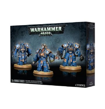 Games Workshop Warhammer 40000 40K Space Marine Centurion Devastator Squad 48-24